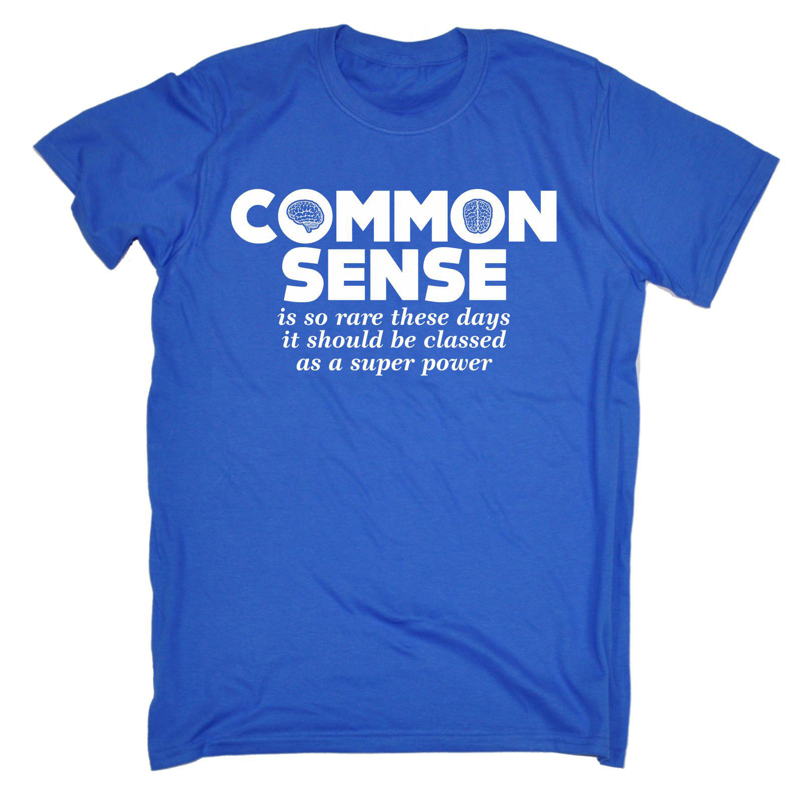Common Sense Is So Rare These Days T-SHIRT Sarcasm Comics Funny Gift Birthday