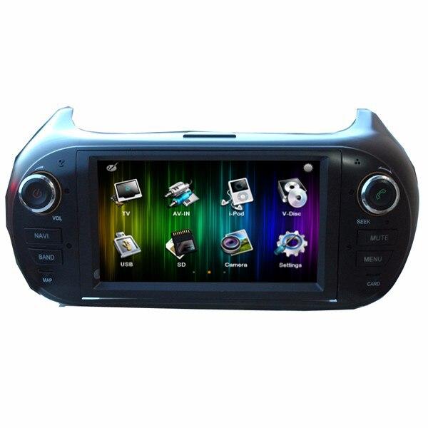 Бесплатная доставка 6.2 dvd плеер автомобиля GPS навигации для Fiat Fiorino Citroen Немо Peugeot Bipper opel combo с Радио RDS USB SD