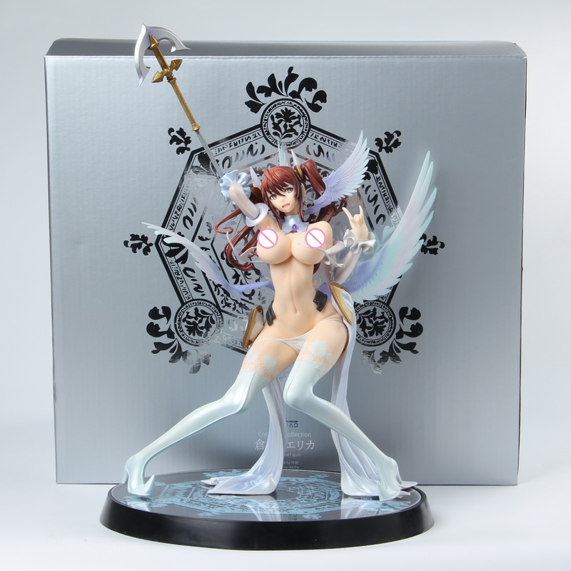 1/7 Scale Native Creators Collection Erika Kuramoto Anime Action Figure Collectible PVC soft body Sexy Girl Action Toy-in Action & Toy Figures from Toys & Hobbies    1