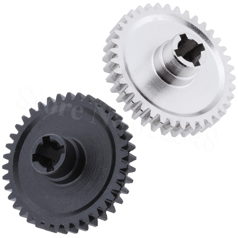 1:18 WLtoys A959 Upgrade Parts 38T Metal Gear Main For A949 A969 A979 Replace A949-24 RC Car 2pcs metal differential driving gear 38t