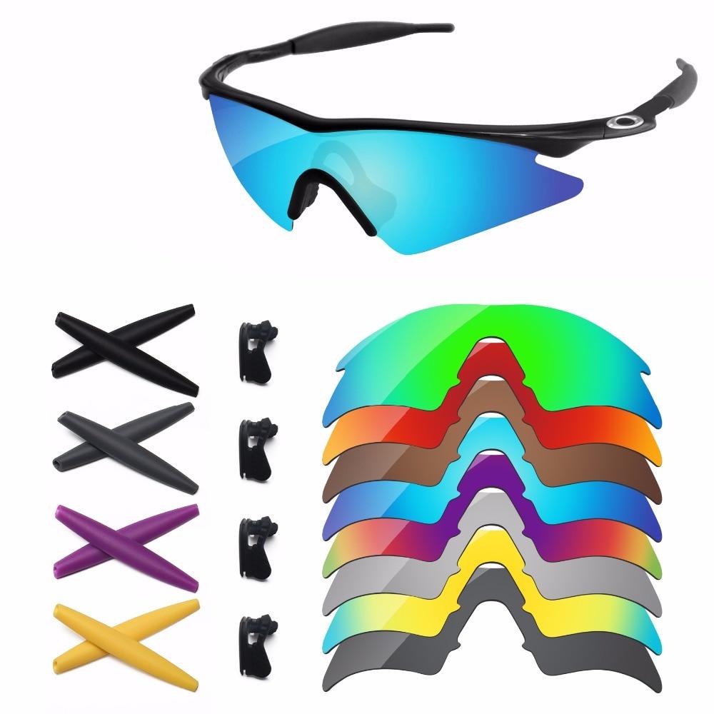 bfc2af247fa8a PapaViva Lentes de Reposição e Kit De Borracha para Autêntica M Quadro  Óculos De Sol Quadro