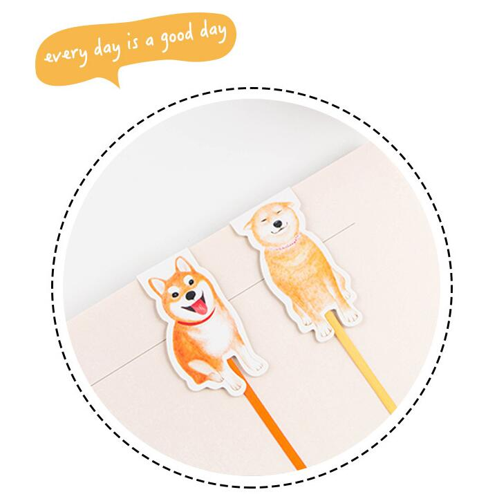 Cute Dog Theme Lovely Magnetic Bookmark DIY Lovely Book Marker Gift 1 Piece