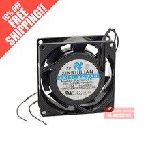 Original RUILIAN SCIENCE XINRUILIAN RAH8025S1 220/240V 0.10A 8025 Aluminum frame cooling fan