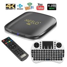 [Genuine] Meelo 4K Amlogic S905X TV Box Android 6.0 Marshmallow 1G/8G 2.4G Wifi HDMI 2.0A KODI Pre-installed X96 Set top box