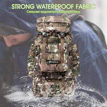Обновленный 70L тактический рюкзак для мужчин военный рюкзак для женщин Спорт на открытом воздухе альпинистские походные дорожные сумки Охота Кемпинг Рюкзак