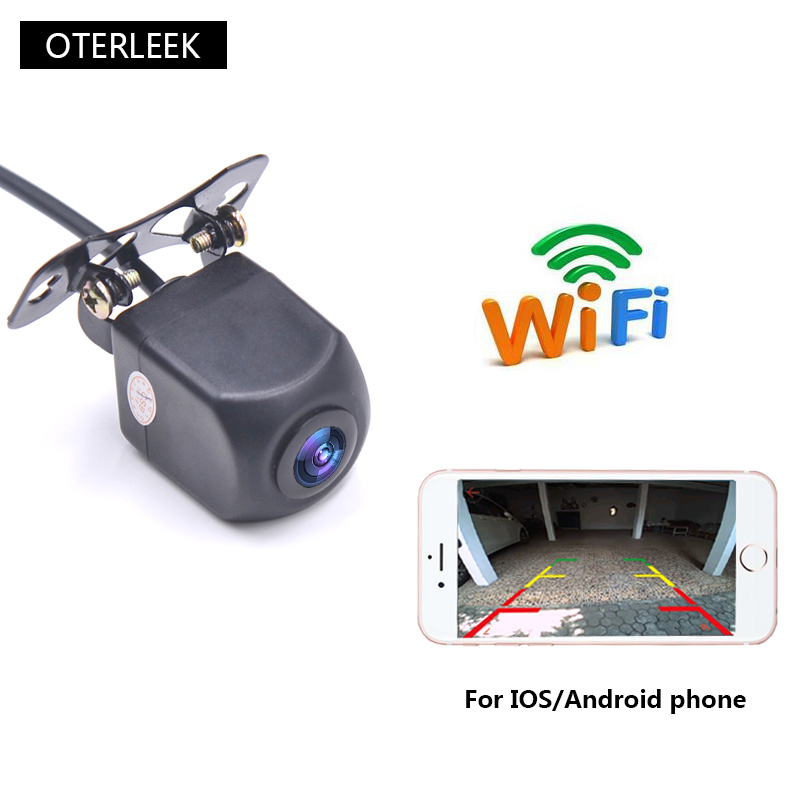 WIFI Reversing Camera Dash Cam Star Night Vision Car Rear View Camera For Ipad  For IPhone Android And Car GPS