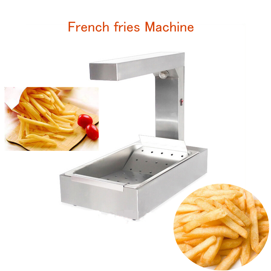 FY-620 French Fries Machine Stainless Steel Chips Warmer Electric French Fries Maker 1000WFY-620 French Fries Machine Stainless Steel Chips Warmer Electric French Fries Maker 1000W