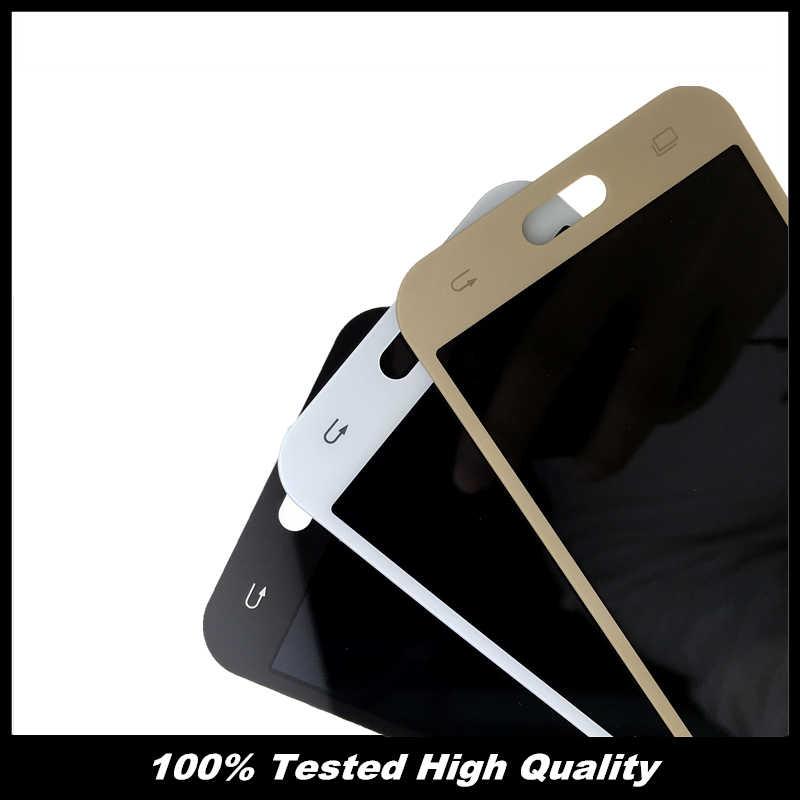 عالية الجودة J200 اختبار شاشات lcd لسامسونج غالاكسي J2 2015 J200 J200F J200Y J200H شاشة الكريستال السائل مع مجموعة المحولات الرقمية لشاشة تعمل بلمس