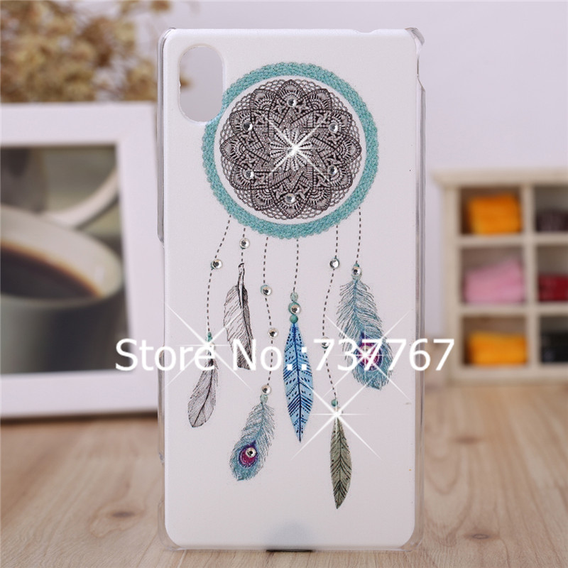 a5ffd722656a Bling Case For Sony Xperia M4 Aqua Hard Plastic Cover Luxury Crystal  Diamond 3D