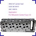 4M42 4AT голый двигатель головка цилиндра ME194151 908 516 для Mitsubishi Canter Pajero Fuso 3.0TDi DOHC 4M42 дизельный двигатель 2977cc