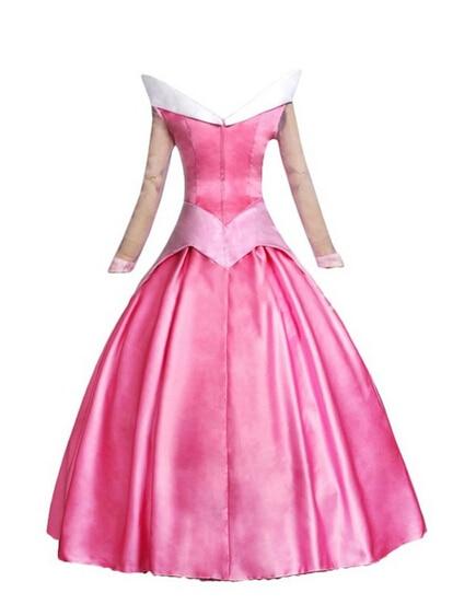 2017 на заказ красивое платье принцессы для косплея с изображением Спящей красавицы Авроры