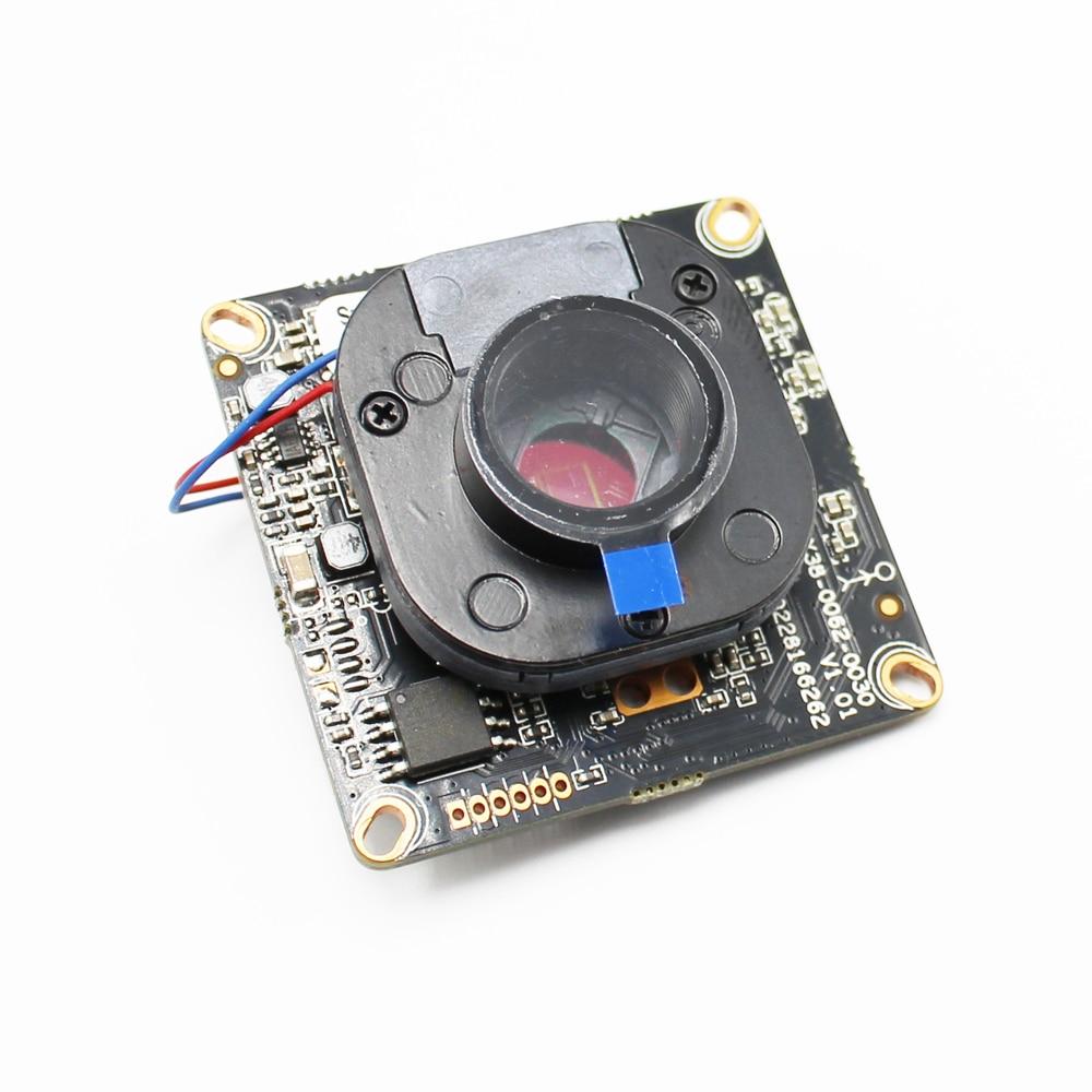 AHWVSE 2MP 1080 P Réseau IP caméra Module PCB avec IRCUT XMEYE APP Hi3518E Puce Nuit Vision CMOS Capteur CCTV Caméra conseil