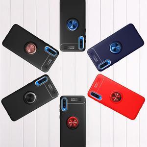 Image 5 - 電話ケース A50 A70 ケース Luxurry 磁気車リングソフトシリコンカバー Funda 用銀河 A30 A40 を 50 ケース Capa