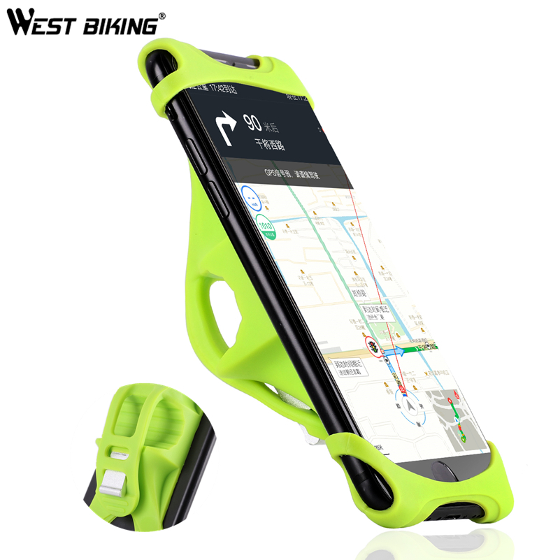 Universal Bicycle Phone Holder Handlebar Clip Stand For iPhone X XS 8 Mount Bracket Bike Phone Holder For Samsung Xiaomi Redmi west biking universal mtb bikes phone stand aluminum bicycle handlebar gps motorcycle cycling mount holder for iphone samsung