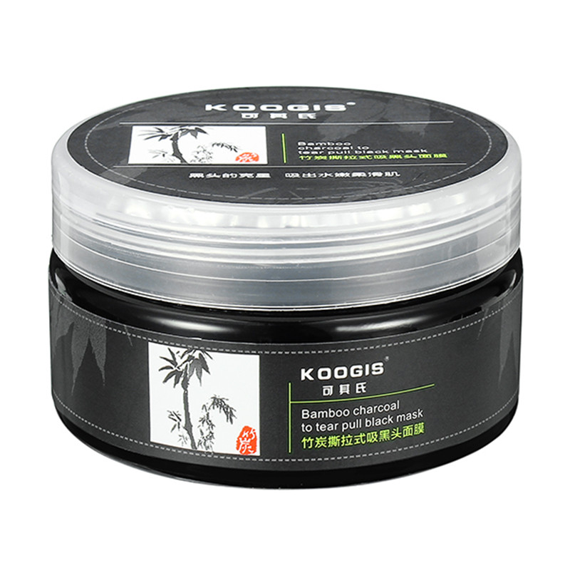 Blackhead Cleansing Remover Mask Bamboo Charcoal Blackhead: Koogis Anti-blackhead Mask Bamboo Charcoal Oil Control