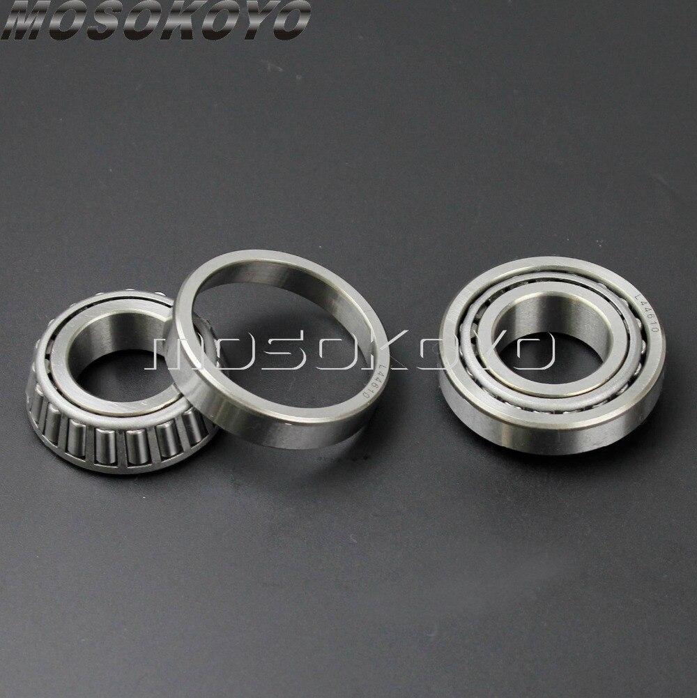 Harley Chopper Chrome Cups Bearings ChromeDust Shields