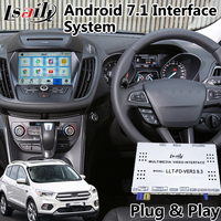 Android 7.1 Video Interface GPS Navigation for Ford Escape Sync 3 System Built in WIFI Bluetooth Mirrorlink 2016 2018