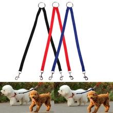 Lead Coupler Pet-Leash Belt Dog Dog-Collar Adjustable Training Elastic Two-Dogs Walk