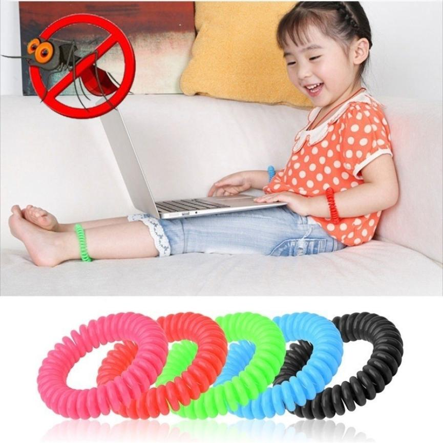 Image 3 - 10pcs Anti Mosquito Repellent Environmental Protection Bracelets Multicolor Pest Control Bracelets Camping Outdoor Adults Kids-in Repellents from Home & Garden