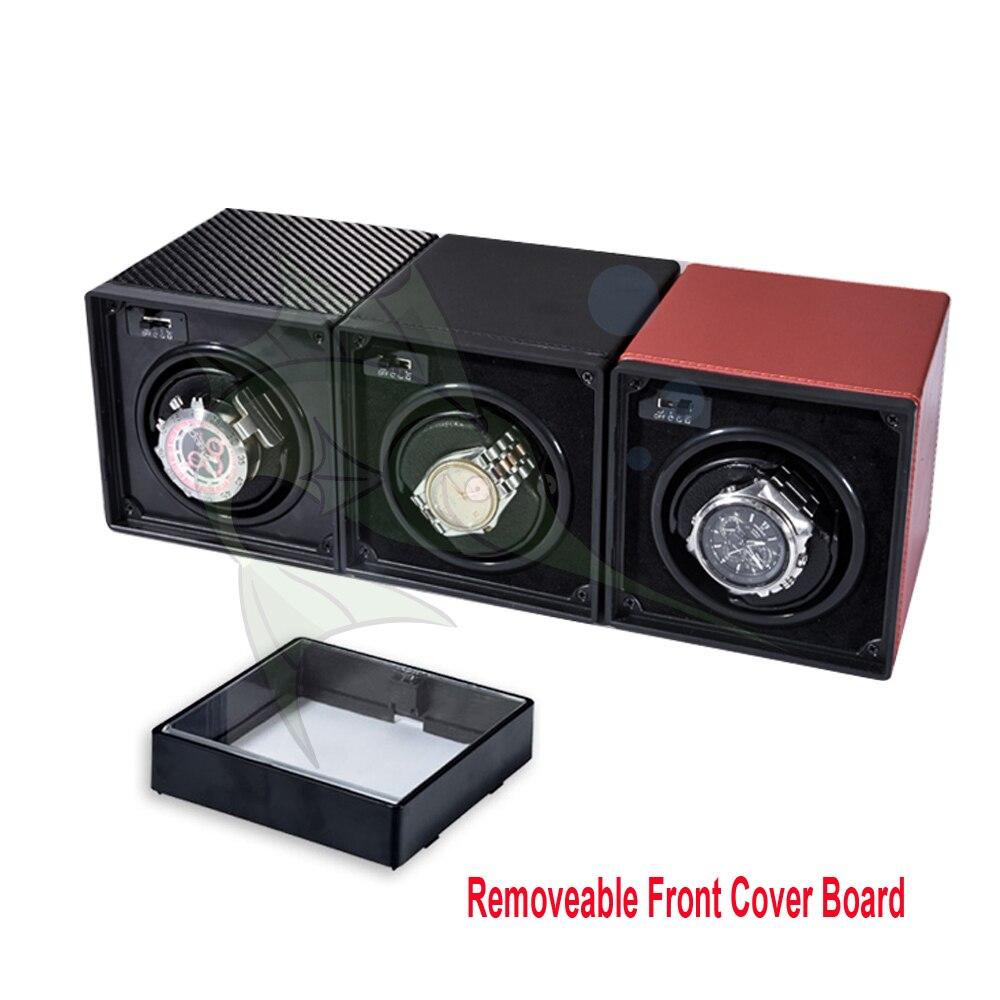 2019 Novo Mini Relógio Enrolador caixa de Relógio Caixa De Armazenamento De Enrolador de Enrolamento relógio Mecânico Automático