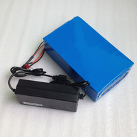 48V 20AH Electric Bike LiFePO4 Battery For 1000W 1500w Motor Electric Wheelchair 1500 Times Cycle Battery
