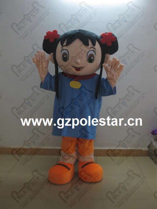hete verkoop kaillan mascotte kostuums schattige meisjes - Carnavalskostuums