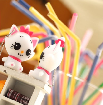 USB Flash Drive/U Disk/creative Pendrive/Memory Stick/Disk/Gift animal cartoon white cat ...
