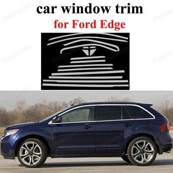 Стайлинг для F-ord Edge автомобиля Оконные Планки из нержавеющей стали декоративные поездки без колонны аксессуары