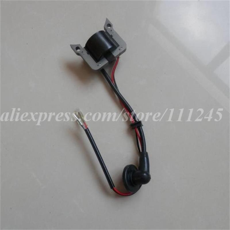 TL20 IGNITION COIL FOR MITSUBISHI TL23 TL26 2 STROKE SOLID STATOR MODULE  MINI STRIMMER BLOWER BRUSH CUTTER IGNITOR  PARTS p351 ignition coil for partner 351 350 370 371 390 420 440 poulan stator chainsaw magneto ignitor