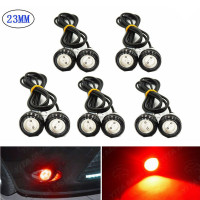 10 X Red 23mm Eagle Eye 9W LED Fog DRL Lights Car Motor Reverse Signal Bulb