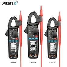 MESTEK Digital Clamp meters AC/DC Current Voltage Meter Auto Range Tru