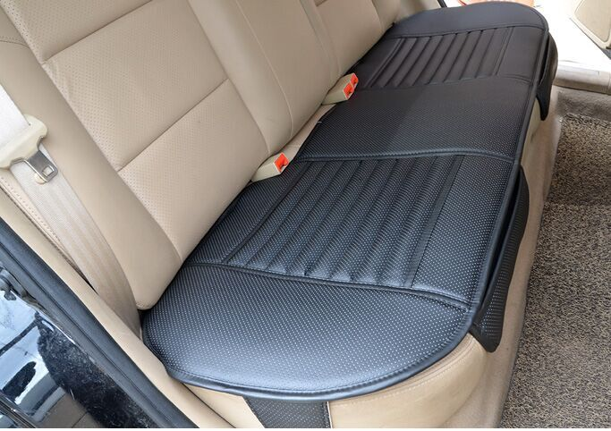 Back Seat Car Cushion Covers Bamboo Charcoal Leather Monolithic Rear In Automobiles From Motorcycles