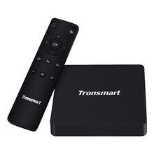 Оригинал Tronsmart S912 S96 TV Box Android 6.0 Amlogic 4 К мини pc 2 г/16 г ac wi-fi bluetooth 1000 м lan коди android tv box