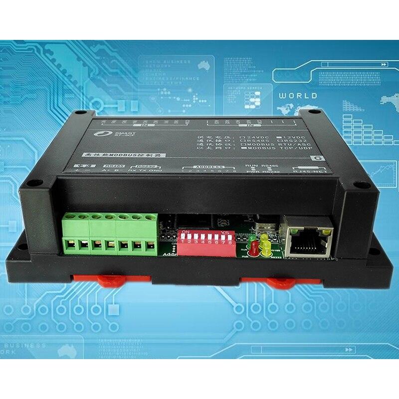 8AI4AO モジュールイーサネット ModbusTCP マスタ局 plc 取得 IO モジュール RS485232  グループ上の 家のリフォーム からの モータドライバ の中 2