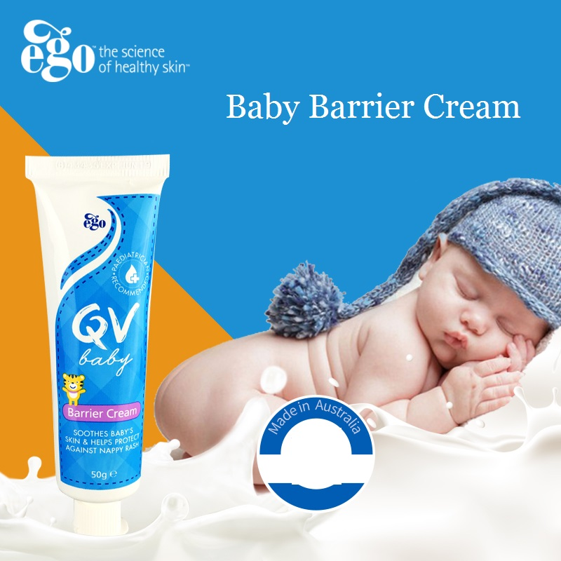 Australia Non Sticky Non Greasy QV Baby Barrier Cream Body Lotions for Infant Facial Rash Eczema Heat Rash Chafing Nappy rash image