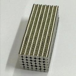 100 Pcs 3mm x 2mm N50 Materiais Magnéticos de Neodímio Ímã Mini Pequeno Disco Redondo mini brinquedos diy