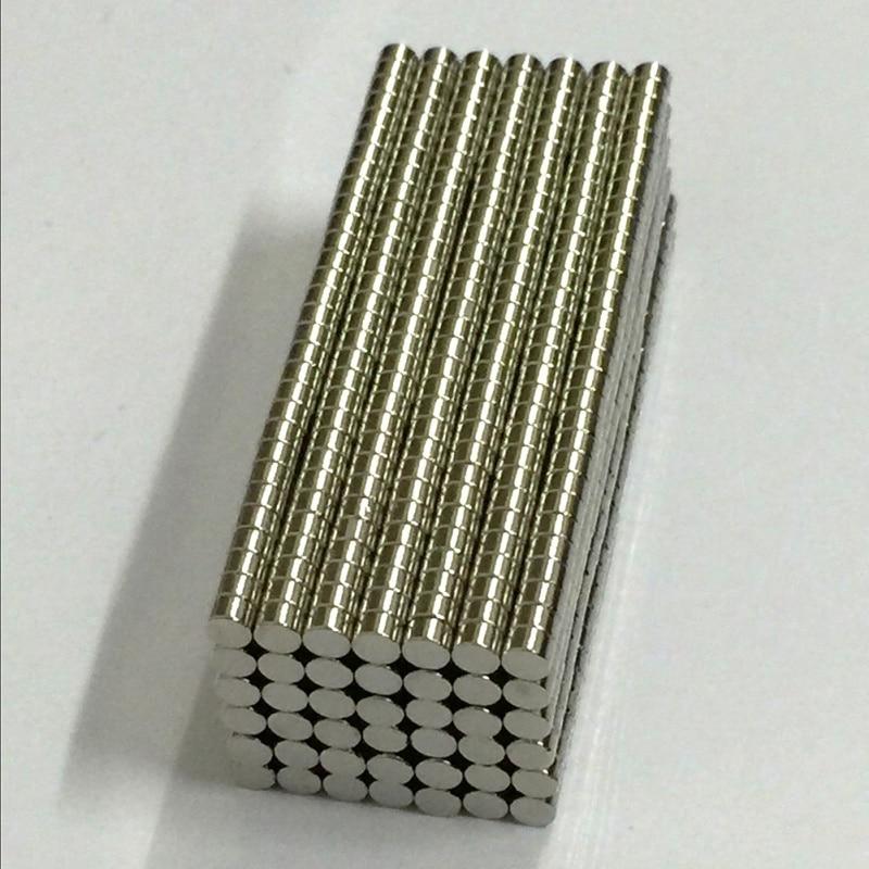 100Pcs 3mm x 2mm N50 Magnetic Materials Neodymium Magnet Mini Small Round Disc mini diy toys магнитные материалы 10 n50 diy 5x10mm sku144166