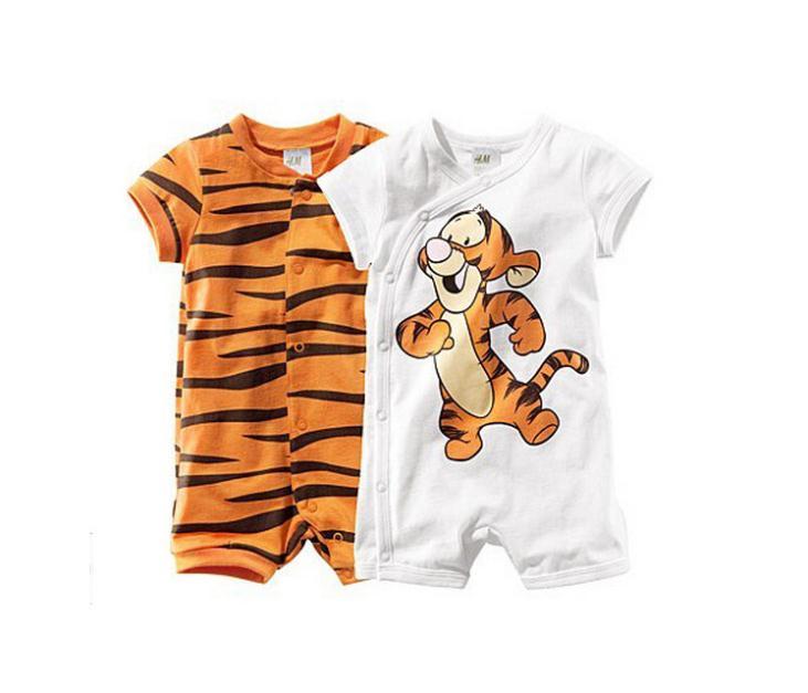 Aliexpress.com Comprar Mameluco del bebé, nuevo 2015, ropa de verano, recién  nacido, la ropa del bebé, de dibujos animados tigre estilo ropa, bebé en