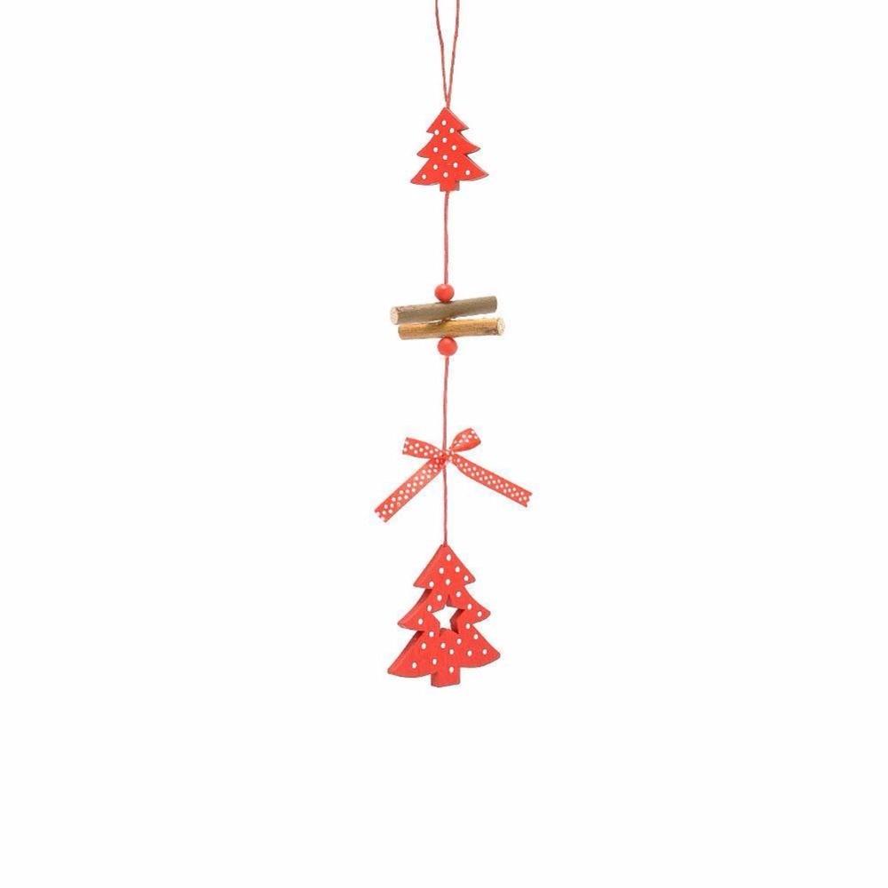 Noel colore ornements de Pere Noel decoration de suspendus d/'arb MI 6PC sacs