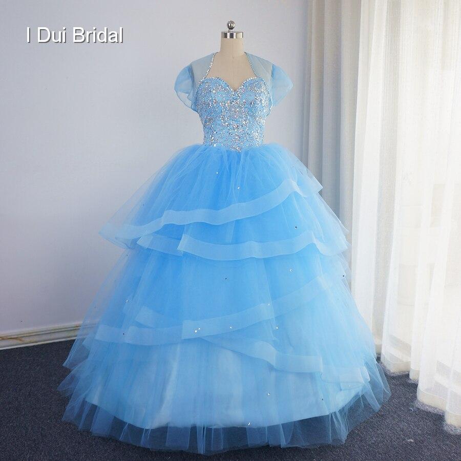 Chérie robe De bal remise des diplômes Quinceanera robes avec veste De luxe 2017 grande jupe Vestidos De 15 Anos Debutante robe