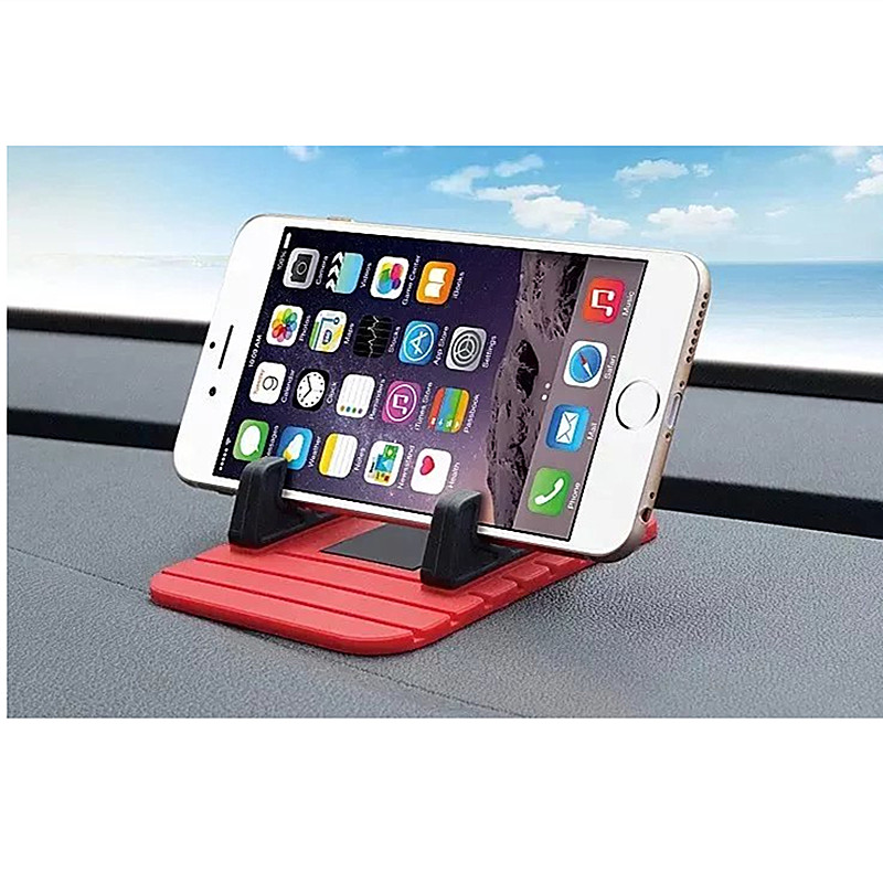 Мягкий силиконовый держатель мобильного телефона приборной панели автомобиля GPS Нескользящие Коврики настольная подставка кронштейн для …