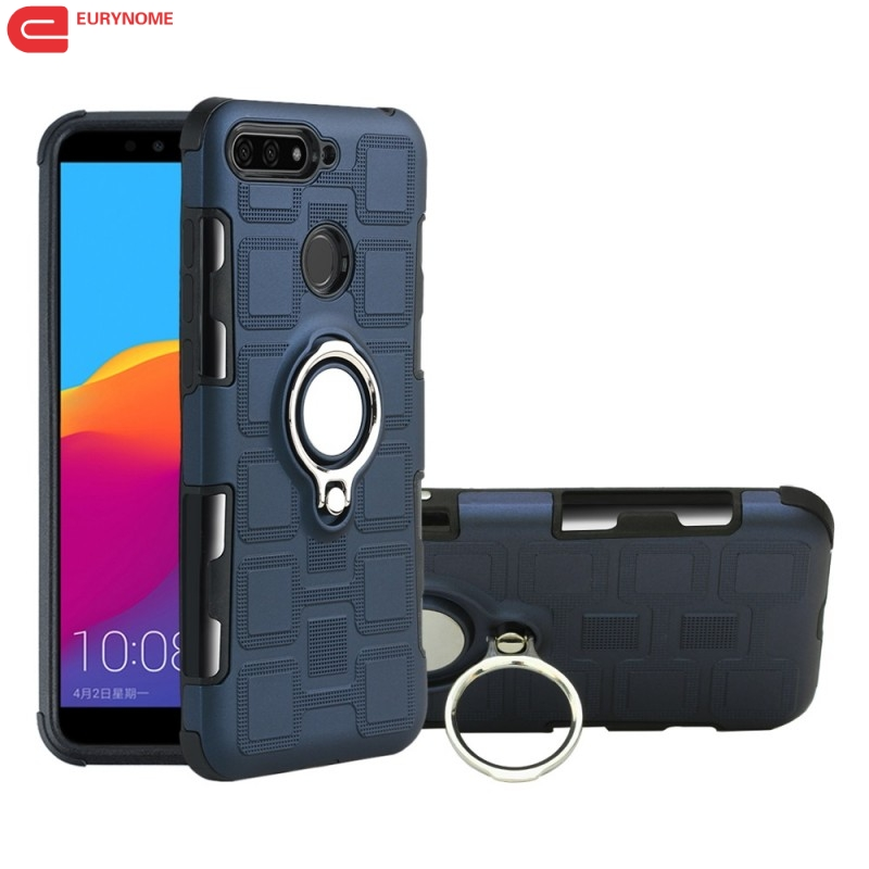 <font><b>Shockproof</b></font> <font><b>Case</b></font> for <font><b>Huawei</b></font> Honor 7C Aum-L41 8S 8A <font><b>Case</b></font> Magnetic Bracket Ring Armor Cover for <font><b>Huawei</b></font> Honor 8C 8A Y5 Y6 <font><b>Y7</b></font> Y9 <font><b>2019</b></font> image