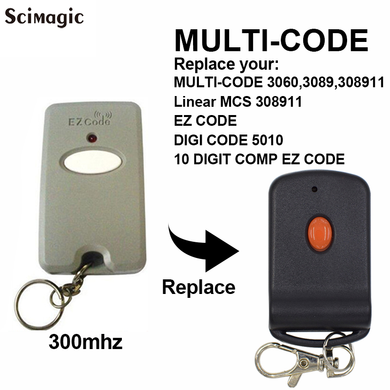 8 Digit Code Mini Gate Remote Control Garage Door Gate Transmitter opener