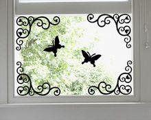 壁ステッカーホームデコレーションリビングルームのコーナーライン キッチンキャビネットミラーガラス Adesivi Parede