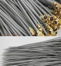 100 шт. серый переходник IPX IPEX u.fl женский 1,13 кабель с одной головкой 5 см 10 см 15 см 20 см 25 см 30 см IPX 1,13 мм RG1.13 кабель