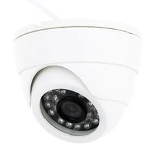 MOOL 800TVL Indoor Night Vision CCTV Dome Camera 24LEDS Wide Angle IR Color Cam