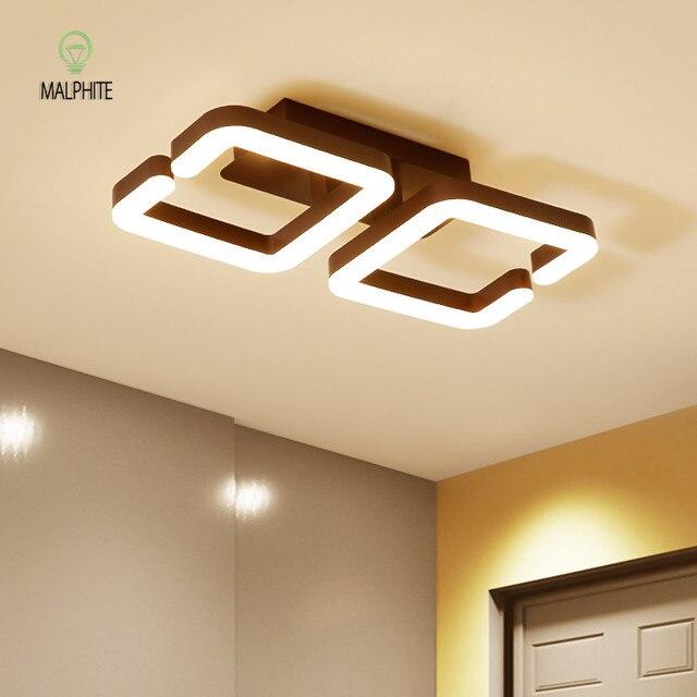 Promo Nordic Moderne Led Hanglamp Decke Licht Wohnzimmer Leuchten ...