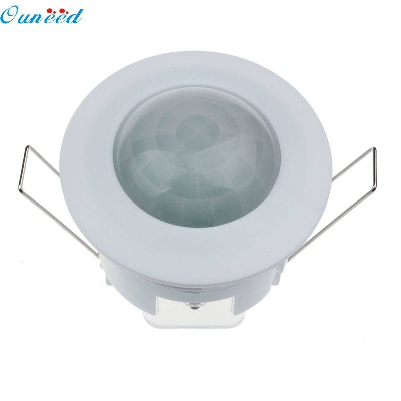 Ouneed Happy Home PIR motion Sensor Switch 360 Degree 220V Ceiling PIR Infrared Motion Sensor Detector Light Switch 1 Piece free shipping newest time delay adjustable ac110v motion sensor light switch 360 degree pir infrared light sensor 1pc