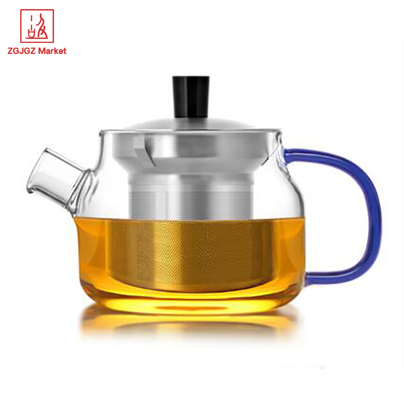 Samadoyo 470ml Travel Tea Set Tea Pot High borosilicate Glass Chinese Tea Cup With Filter Kung Fu Teapot S048C in Teaware Sets from Home Garden