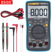 Multimetro digitale BSIDE ZT301 302 True-RMS DC/DA Voltmetro Amperometro Multimetro DMM Resistenza Ohm Cap Hz Temp tester